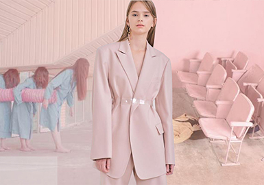 2019 S/S Color Trend Forecast for Womenswear -- Pink