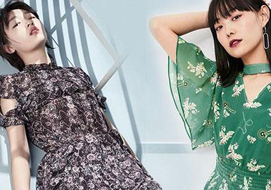 2018 S/S Womenswear Benchmark Brand -- Young Women's Dress