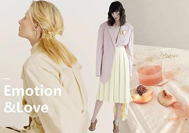 Design Development for Womenswear -- Emotion  &  Love