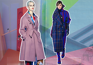 18/19 A/W Women's Coat on Catwalk -- Color