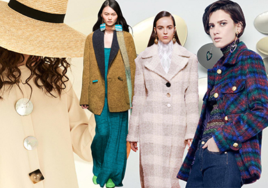19/20 A/W Accessories for Womenswear -- Refreshed Buttons