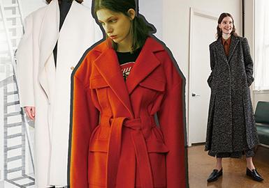 19/20 A/W Silhouette for Womenswear -- Simple Coat