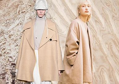 19/20 A/W Color for Women's Coat -- Khaki