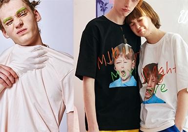 2018 S/S Menswear in Korean Market -- Pattern & Craft