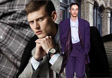 19/20 A/W Men's Suit & -- Fabric