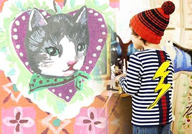 19/20 A/W Print & Pattern for Kidswear -- Slow Time