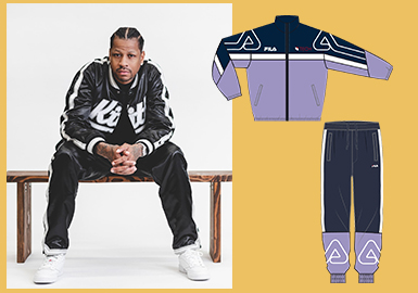 19/20 A/W Men's Looks -- Casual Tracksuit