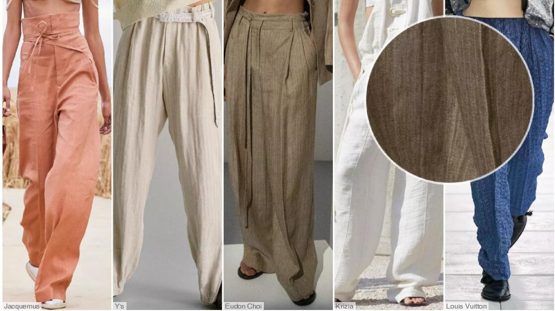 Solid Linen Fabrics