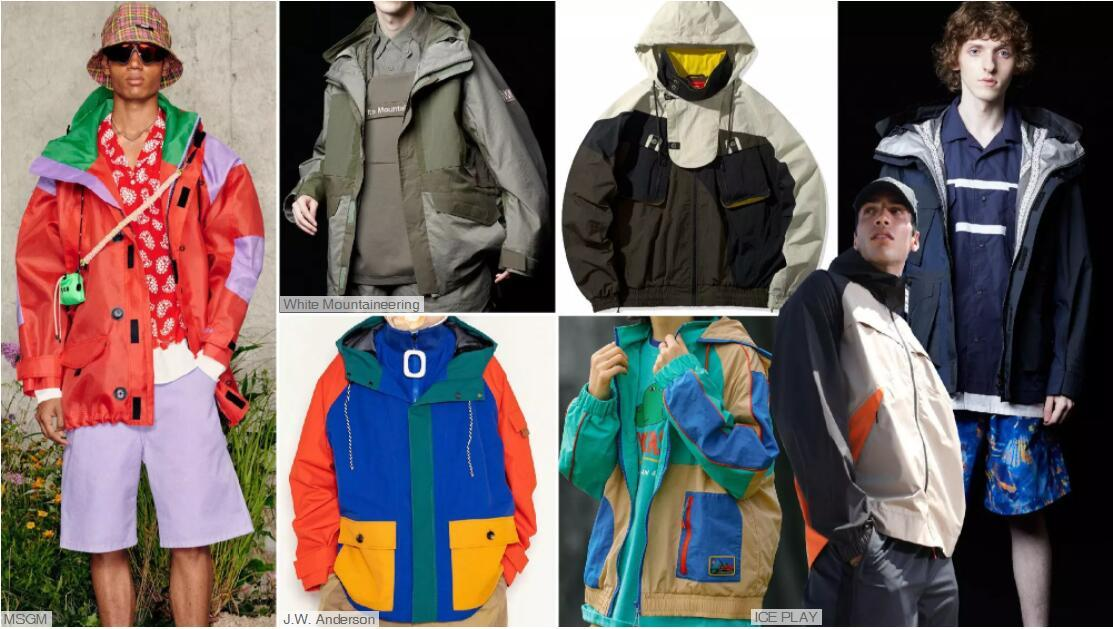 Light Outdoor Hooded Loose Jackets