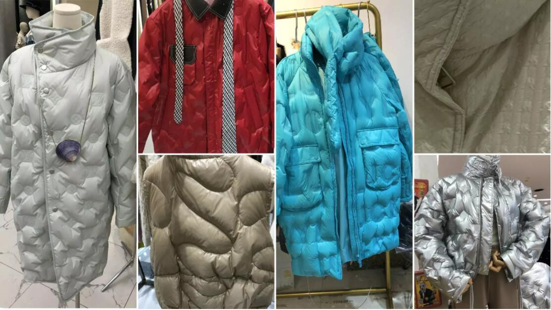 New Form of Quilting jacket