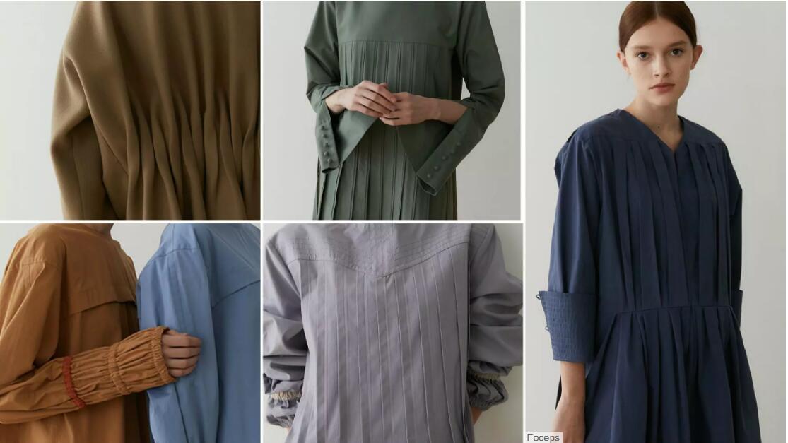 Regular Pleats womenswear