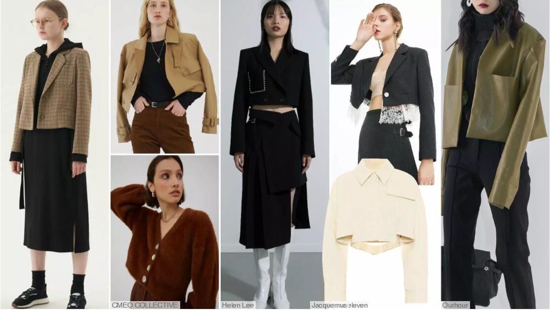 Box Short-Cut Overcoats