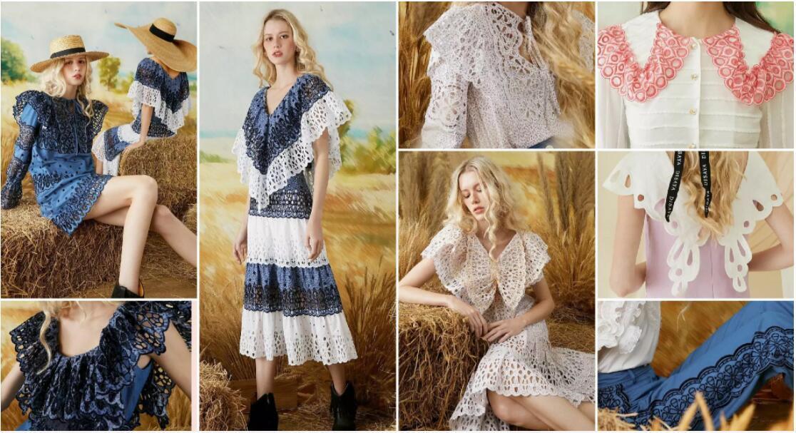 Hollow Lace dresses