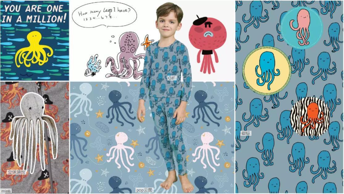 Octopus underwear