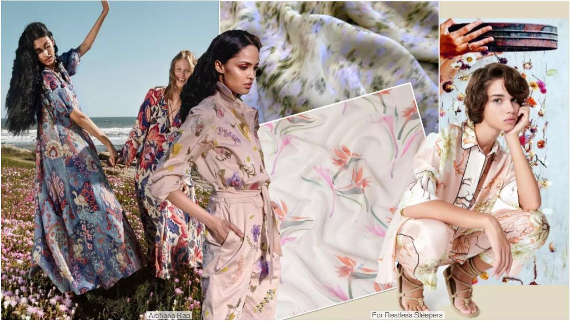 The Silk Fabric Trend for Womenswear
