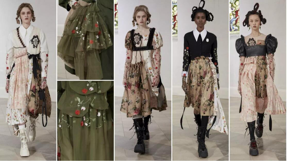 Deconstruction Pleat Dresses