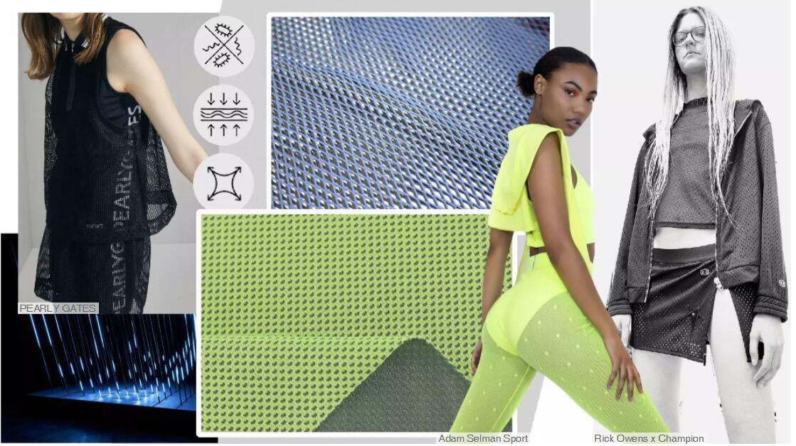 Functional Mesh Knit Fabric