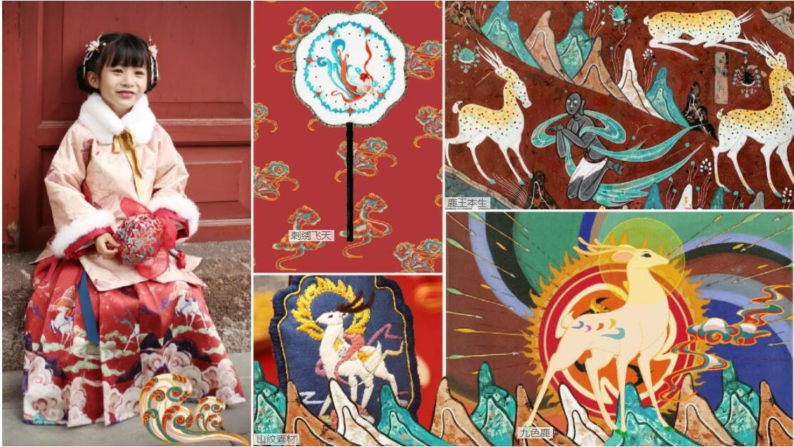 Classical Dunhuang pattern