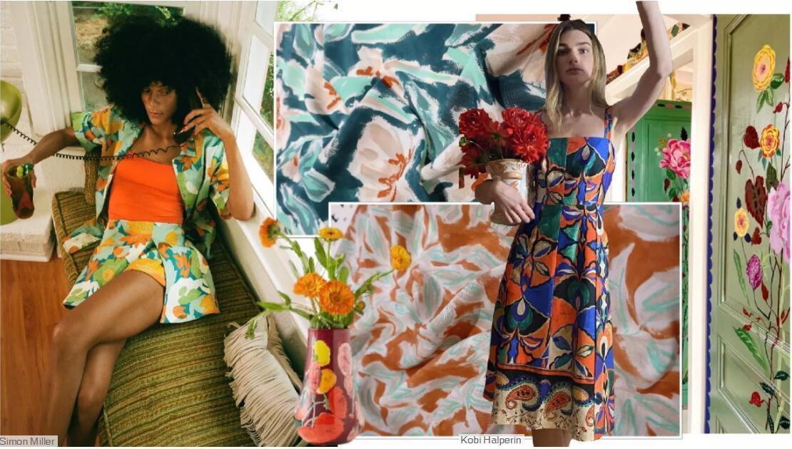 Home Artistic Printed Fabric