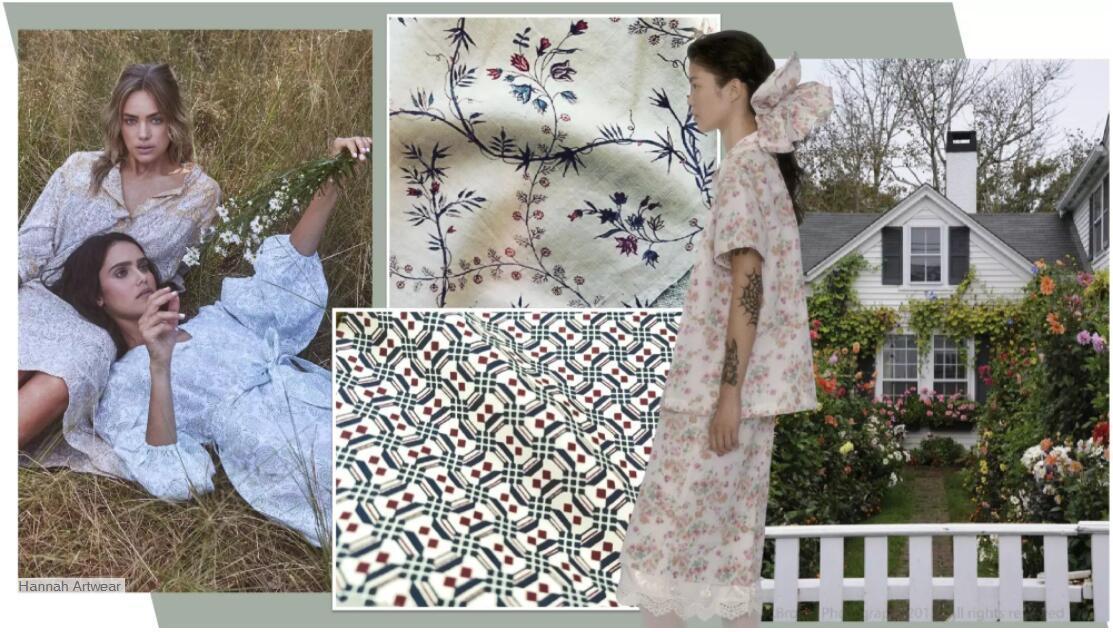 Vintage Garden Fabric