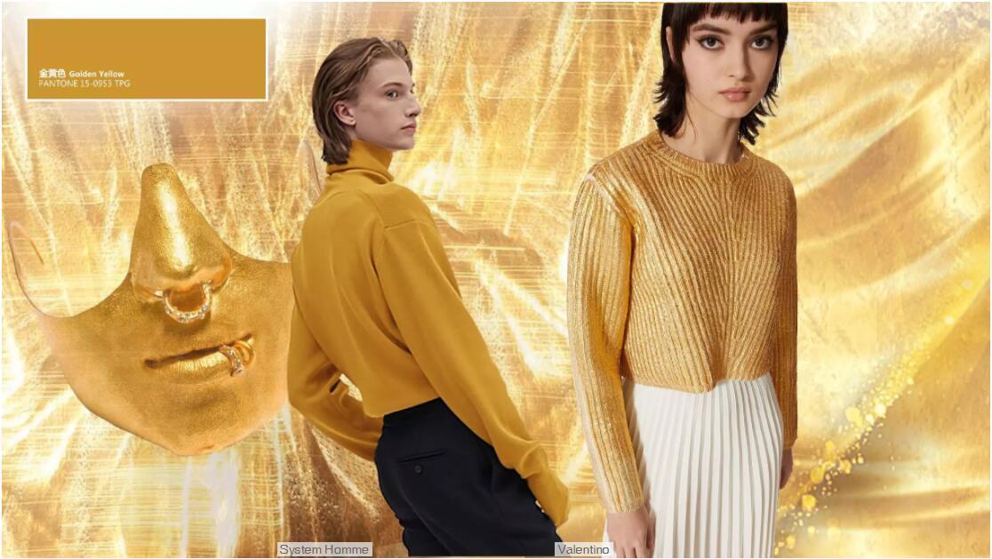 Golden Yellow sweater