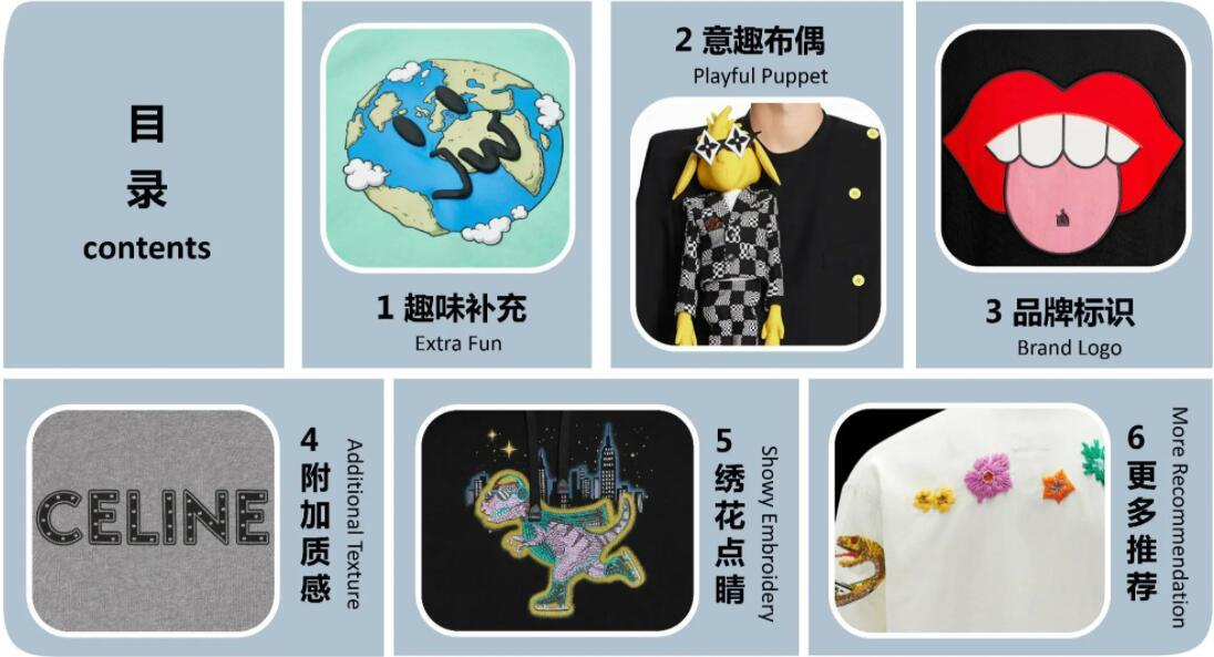 Menswear pattern