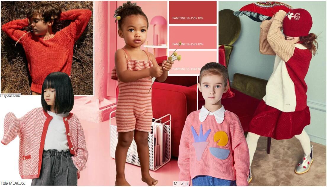Red kidswear