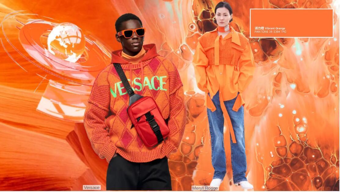 Vibrant Orange color