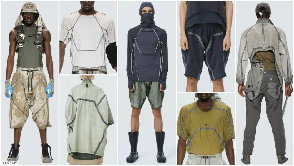 Structure Identification menswear