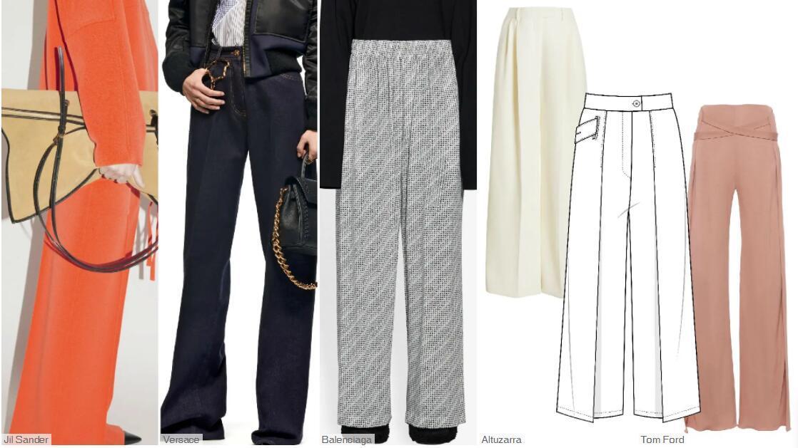 Floor-length Airy Pants