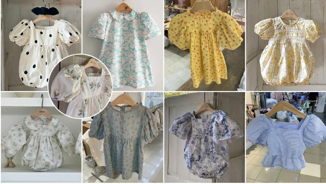 Voluminous Puff Sleeve kidswear