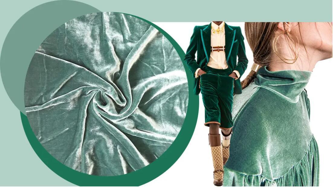 Velvety Fabric