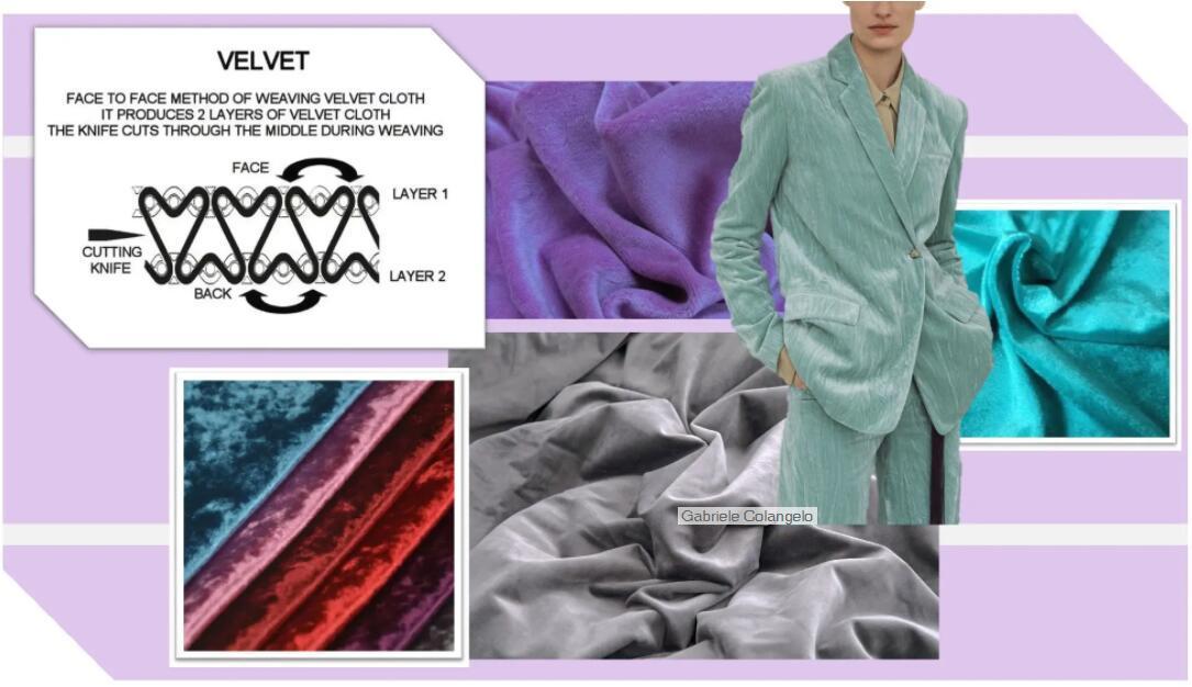Velvet & Silk Velvet & Pleuche & Velveteen
