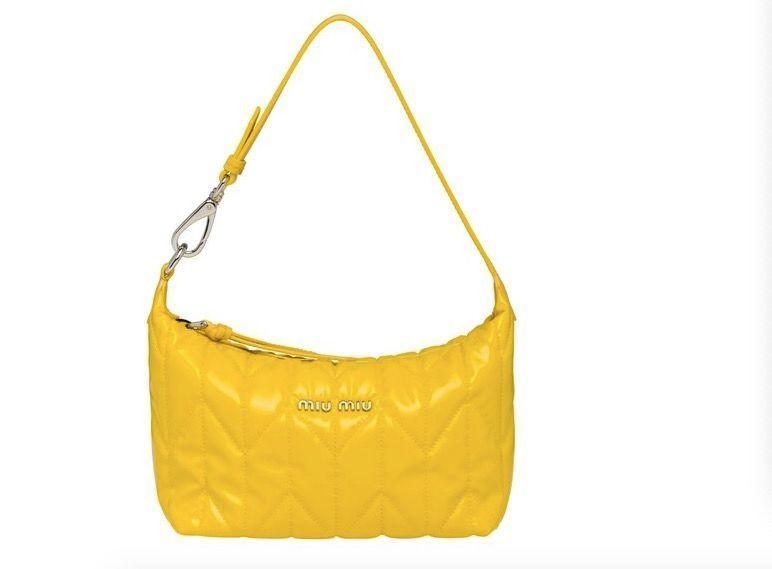 yellow fashion bag