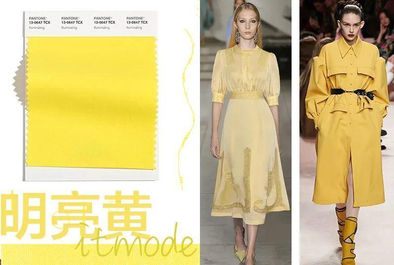 Illuminating yellow