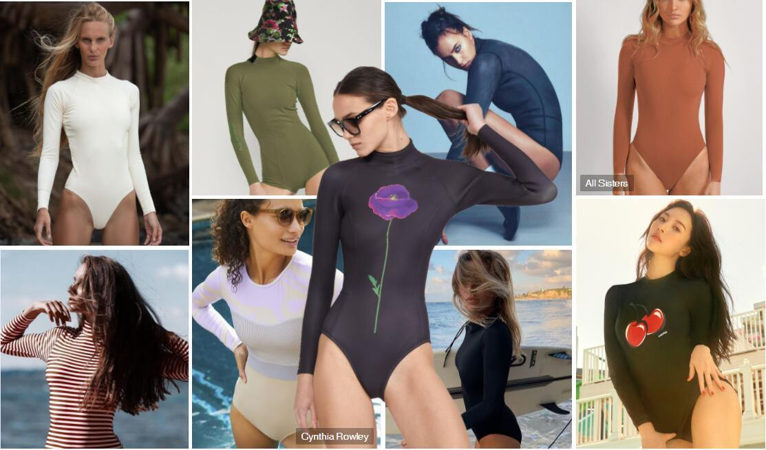 Long-sleeved One-piece Swimsuit