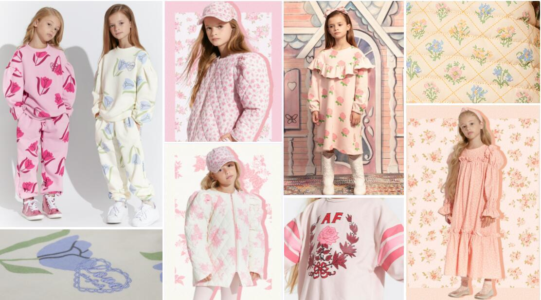Romantic Flower kidswear