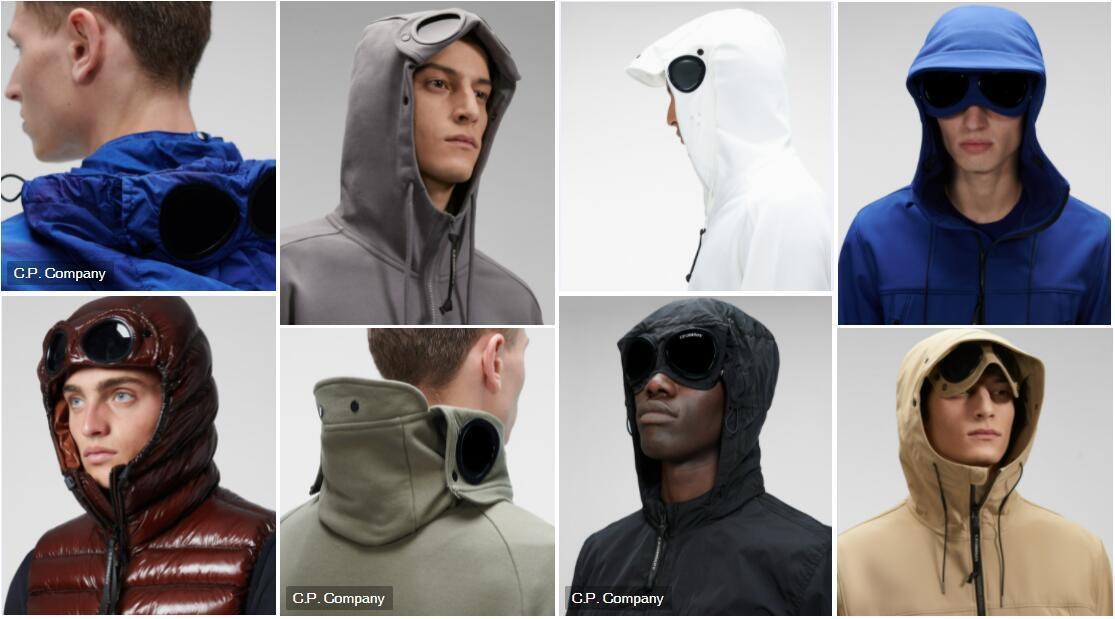 Goggle Development menswear