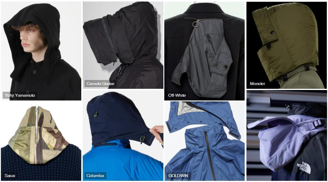 Detachable Hood menswear