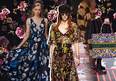 18/19 A/W Womenswear Key Trend -- Printing & Patterns