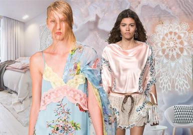 19/20 A/W Women's Loungewear -- Intriguing Lace