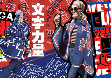 19/20 A/W Pattern for Womenswear -- Power of Letters