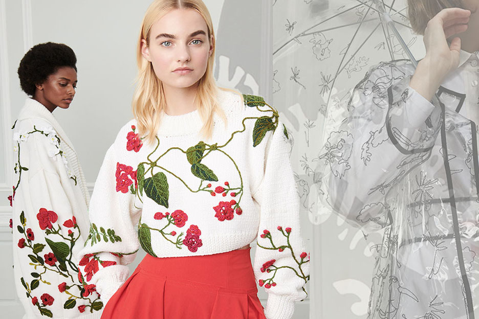 2019 S/S Womenswear Trend Forecast -- Patterns & Craft