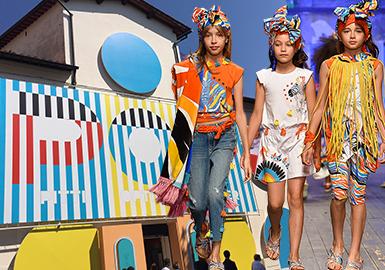2019 S/S Kidswear at Pitti Bimbo -- Color & Style