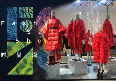 18/19 A/W Womenswear at Fashion SZ Show -- Coat & Puffa