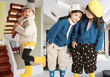 18/19 A/W Kidswear in Guangzhou Wholesale Market -- Style & Silhouette