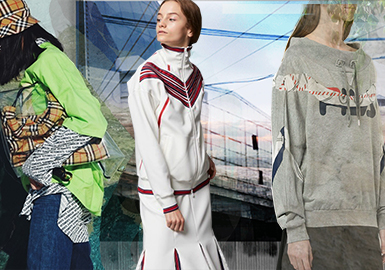 19/20 A/W Silhouette Trend Forecast for Women's Sportswear-- Leisure Time