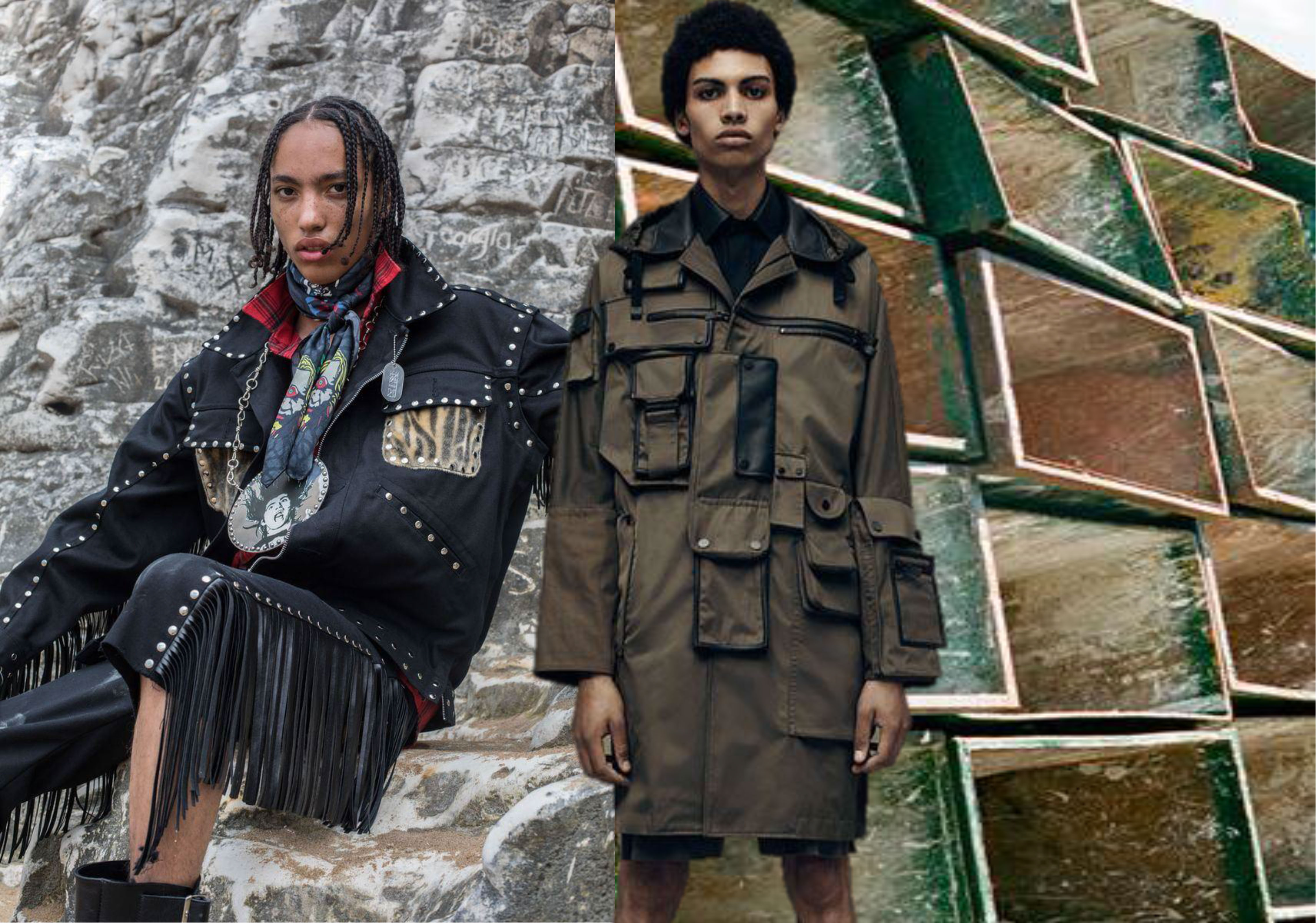 19/20 Fabric Trend for Menswear -- Military Style