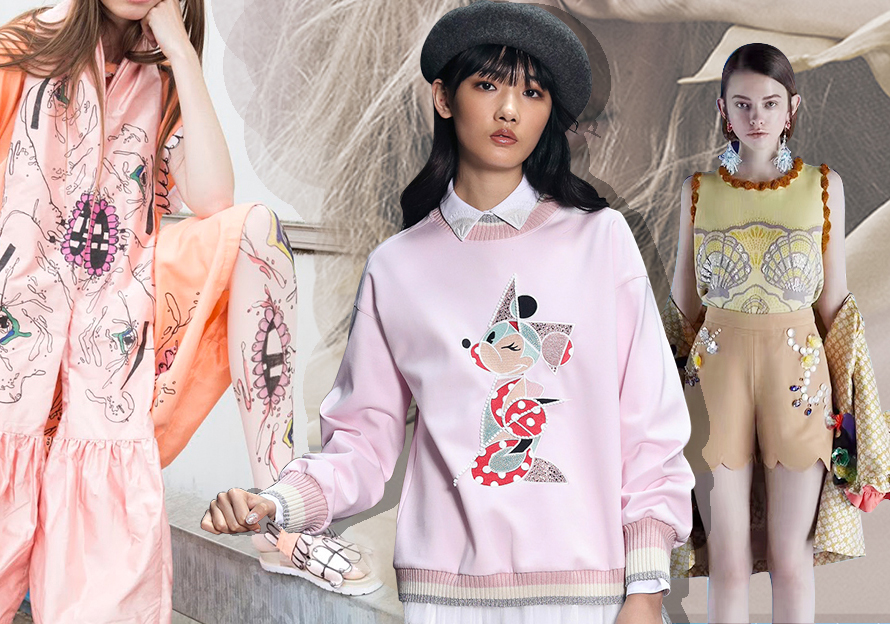 2020 S/S Pattern for Womenswear -- Quirky Girl
