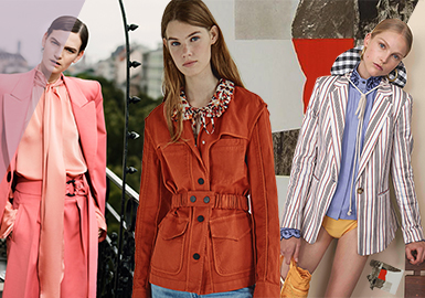 19/20 A/W Silhouette Trend for Women's Outerwear -- Female Power